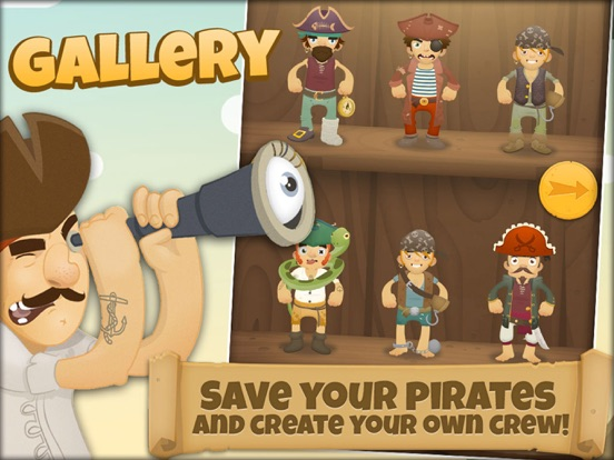 1000 Pirates - Dress Up and Stickers for Kids screenshot