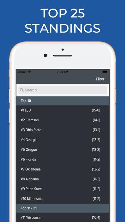 TCU Football Schedules screenshot-5