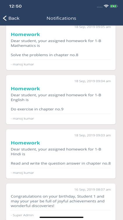 Schoollog - Parent App screenshot-6