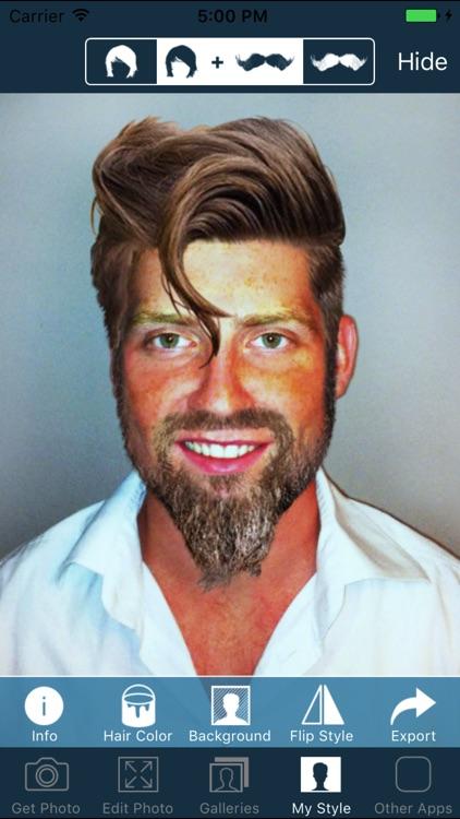 Hair and Beard Styles PRO