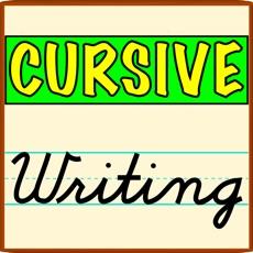 Activities of Cursive Writing-