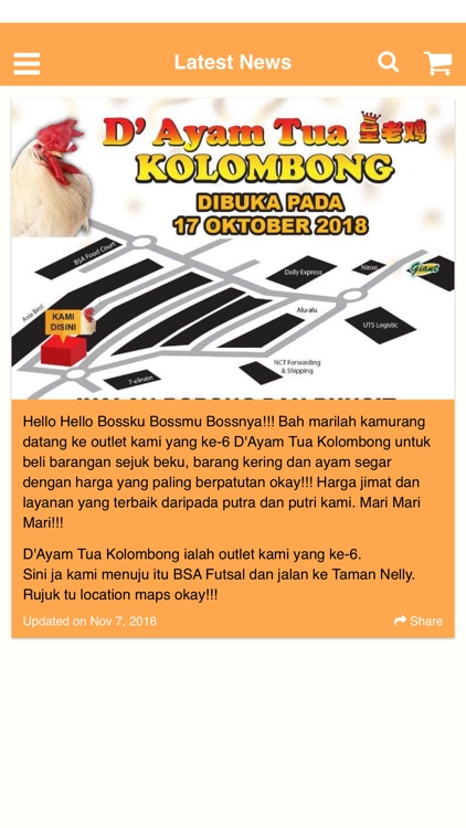 Istana Ayam Tua By C Care Enterprise Sdn Bhd