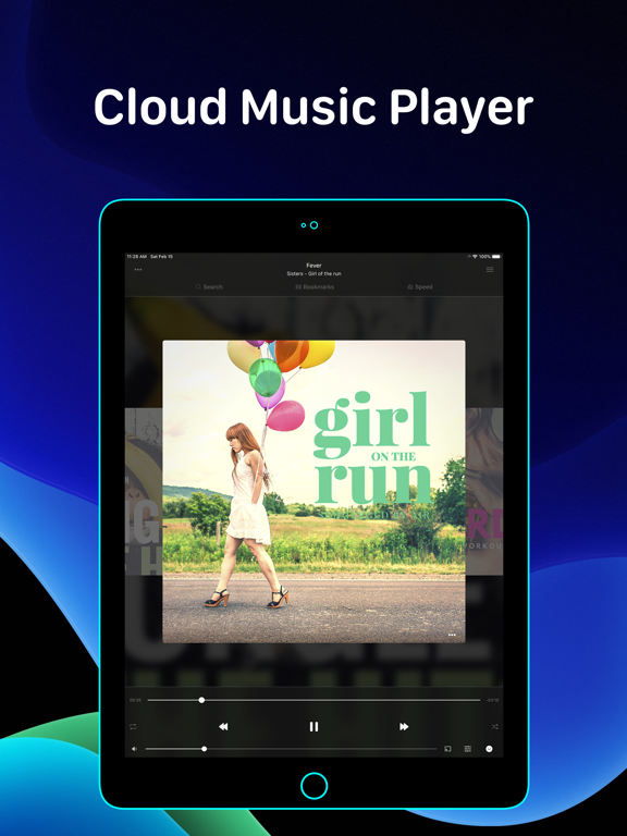Evermusic - Offline Music Player & Cloud Streamer screenshot