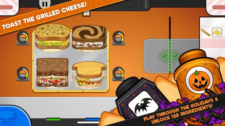 Papa's Cheeseria To Go! screenshot-3
