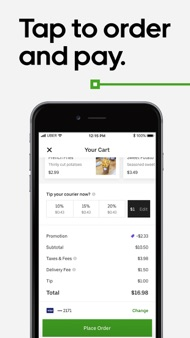 Uber Eats: Order Food Delivery iphone images