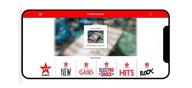 Virgin Radio Officiel on the App Store