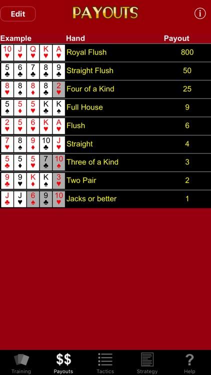 Video Poker Trainer screenshot-3