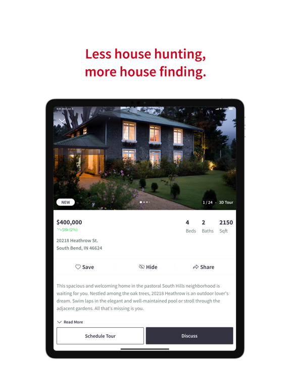 Keller Williams Realty Real Estate Search screenshot