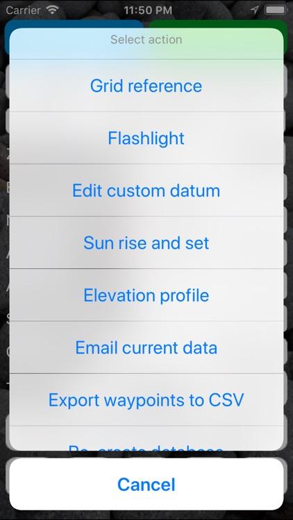 Handy GPS screenshot-5