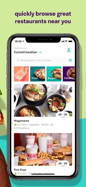 restaurants deliver food