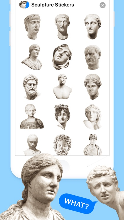 Sculpture Stickers