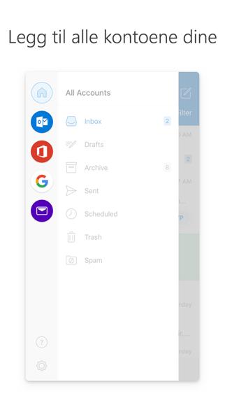 Screenshot for Microsoft Outlook in Norway App Store