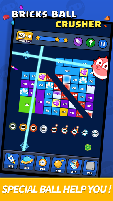 Bricks Ball Crusher screenshot 5