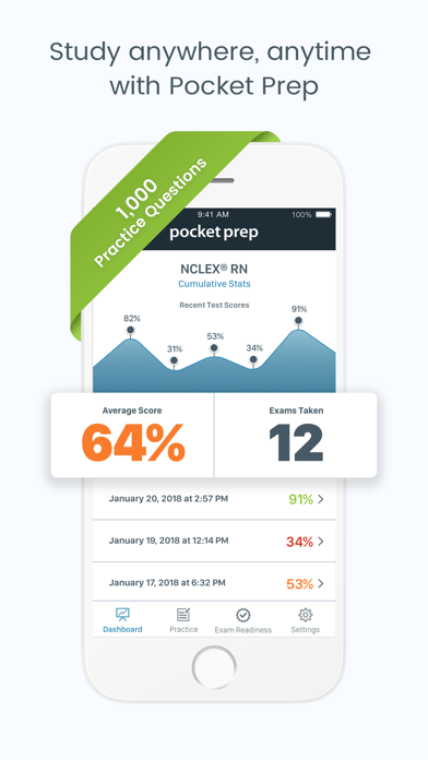 NCLEX-RN Pocket PrepScreenshot of 1