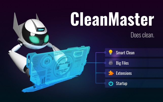CleanMaster on the Mac App Store