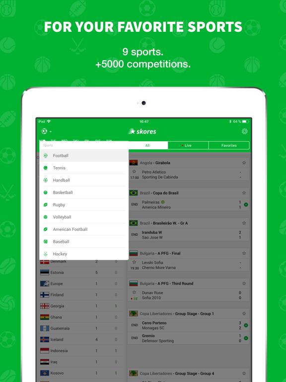 Skores - Live Scores & Results screenshot 7