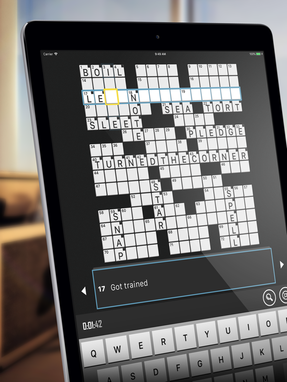 Crossword Puzzle Redstone screenshot
