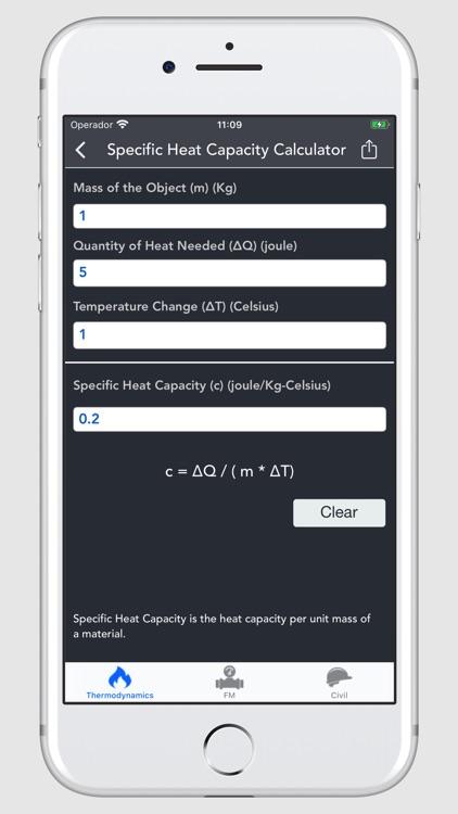 Thermodynamics Calculator screenshot-4