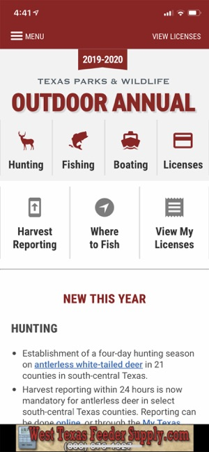 Texas Outdoor Annual on the App Store