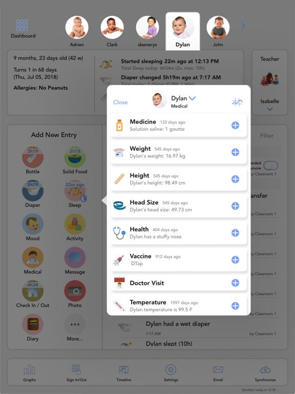 Baby Connect for iPadのおすすめ画像3