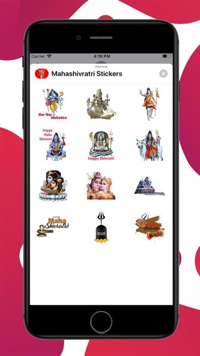Mahashivratri Stickers screenshot 1
