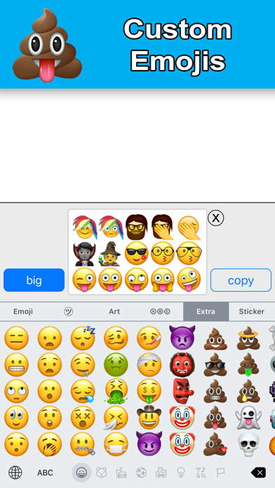 New Emoji - Extra Smileys Screenshot