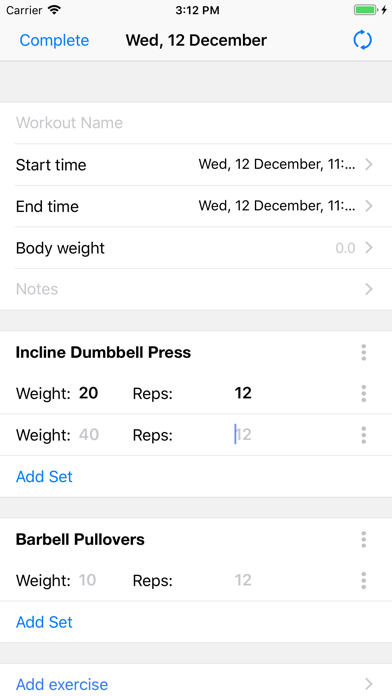 Gym Assistant Fitness Workouts Screenshots