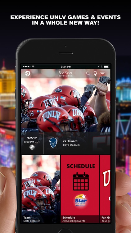 UNLV Rebel Athletics Gameday screenshot-0