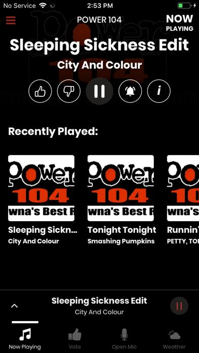 Power 104 Radio screenshot one