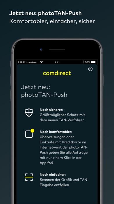 comdirect photoTAN AppScreenshot von 1