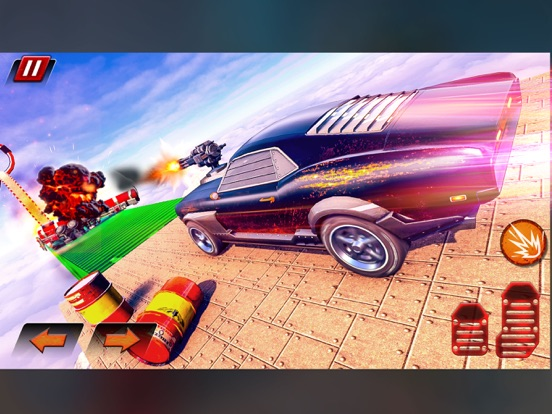 Crazy Shooting Car Stunts Sim screenshot 1