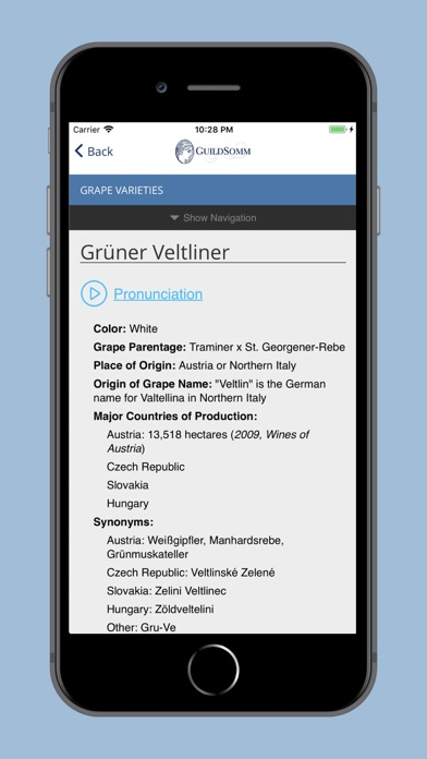 GuildSomm Compendium Screenshot