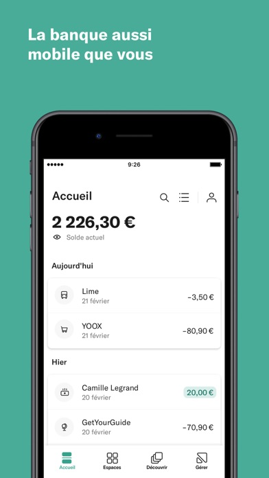 messages.download N26 – La Banque Mobile software