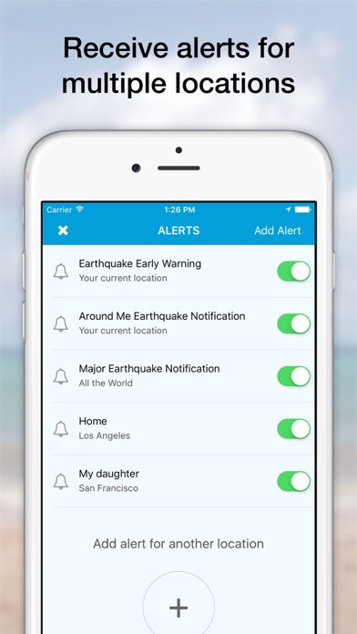 messages.download eQuake - Earthquake Alerts software