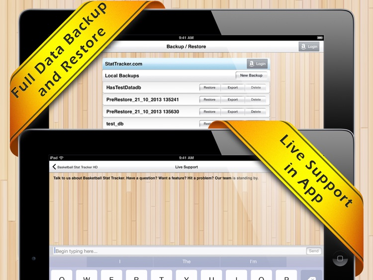 Basketball Stat Tracker HD screenshot-3