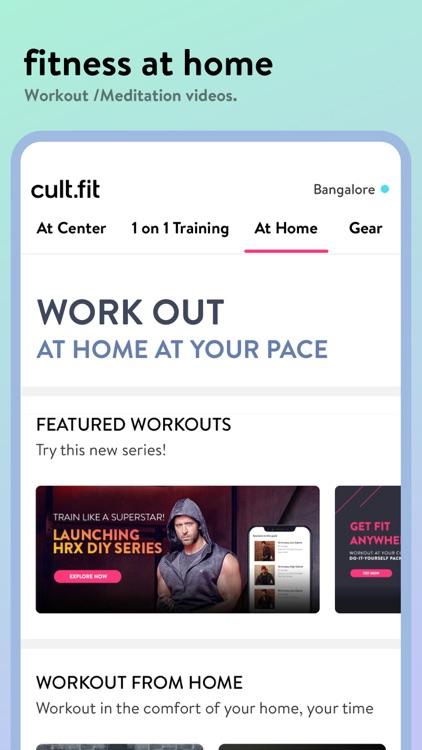 cure.fit screenshot-3