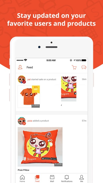 Screenshot for Shopee PH: Buy and Sell Online in Philippines App Store
