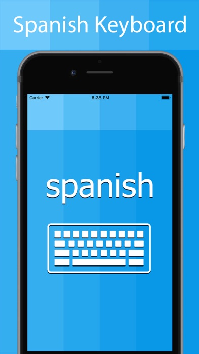 Spanish Keyboard - Translator screenshot one
