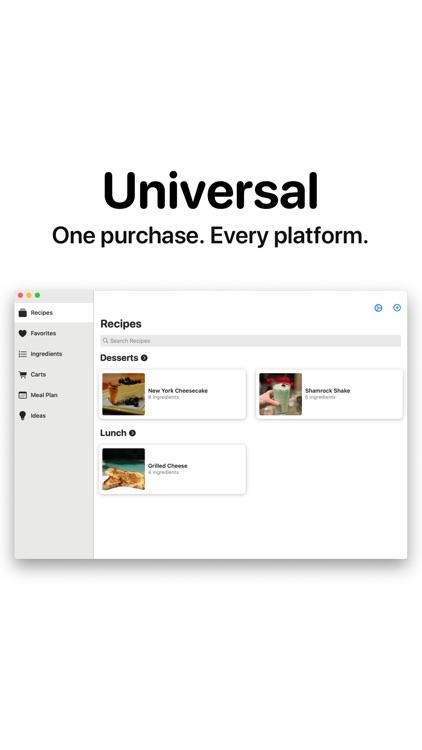 SimpleRecipes - Shop & Make