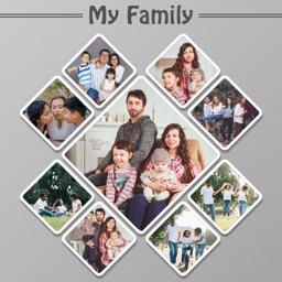 My Happy Family Photo Editor