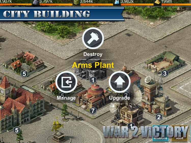 War 2 Victory HD screenshot-0