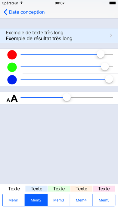 Screenshot #3 pour ObstetriCalc