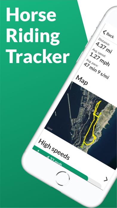 Horse Riding Tracker screenshot one