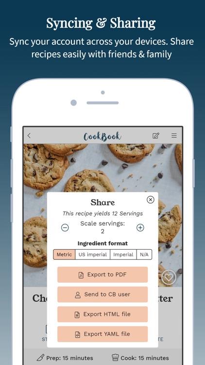 CookBook - The Recipe Manager screenshot-9