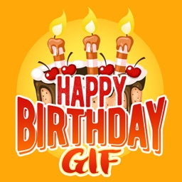 Birthday Gif - Stickers