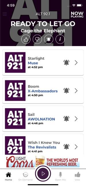 Alt 92 1 on the App Store