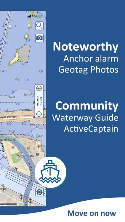 Aqua Map USA: Marine & Lake