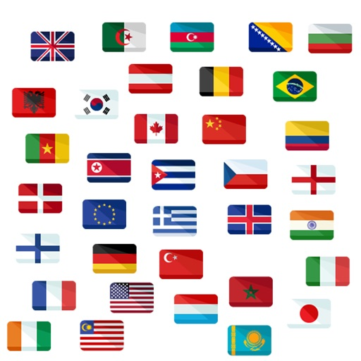 Flags Pack Stickers image