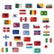 download Flags Pack Stickers