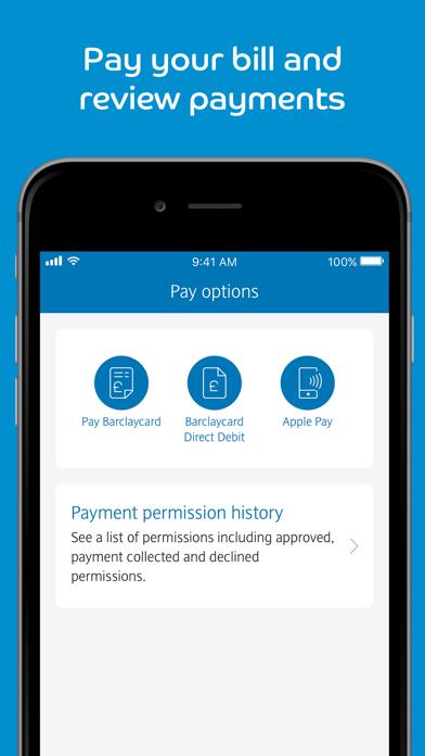 Barclaycard screenshot four